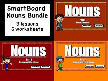Nouns: SmartBoard Bundle (Grammar)