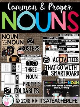 Nouns   Common & Proper Nouns