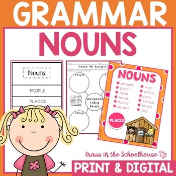 Nouns - Engaging Activities to Teach Grammar