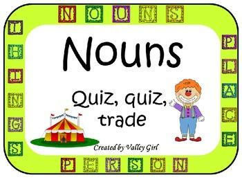 Nouns: Four corners