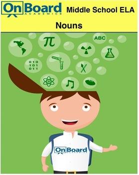 ELA Nouns-Interactive Lesson