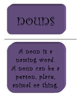 Nouns Lesson Pack