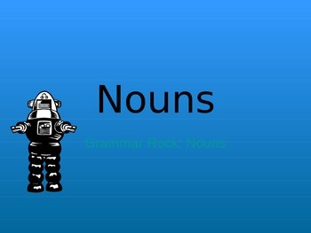Nouns PowerPoint Unit Bundle