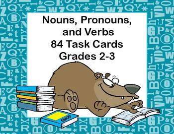 Nouns, Pronouns,and Verbs-A Classroom Resource for Grades