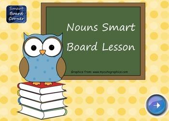 Nouns SMART Board Lesson