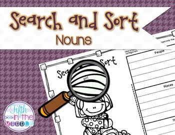 Nouns Search and Sort