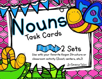 Nouns {Task Cards}