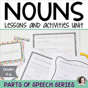 Nouns Unit - Parts of Speech Series