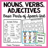 Nouns Verbs and Adjectives Pack