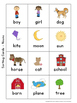 Nouns, Verbs and Adjectives ~ Posters and Sorting Activities