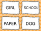 Nouns, Verbs, and Adjectives Sort
