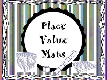 Place Value Mats: Two, Three, Four Digits