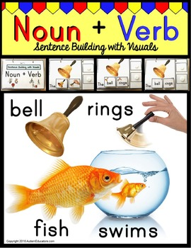 Nouns and Verbs – Building Sentences with Pictures for Aut