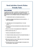 Novel Activities: Generic Fiction Friendly Tasks