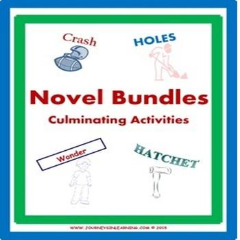 Novel Bundles-Culminating Activities