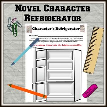 Novel Character Refrigerator