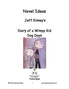 Novel Ideas - Jeff Kinneys Diary of a Wimpy Kid Dog Days