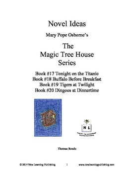 Novel Ideas: Magic Tree House #17 to #20: Four Complete No