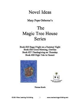 Novel Ideas: Magic Tree House #25 to #28: Four Complete No