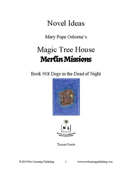 Novel Ideas: Magic Tree House #46: Dogs in the Dead of Night