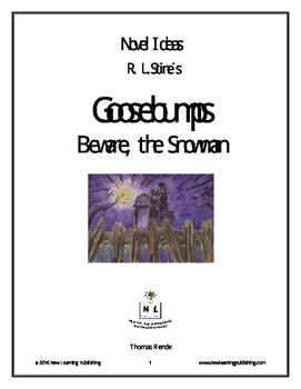 Novel Ideas - R. L. Stine's Goosebumps Beware, The Snowman