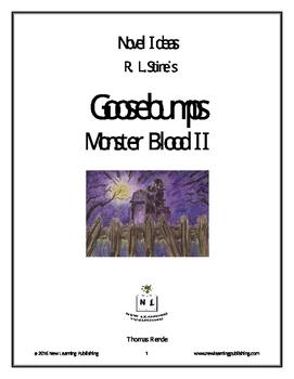 Novel Ideas - R. L. Stine's Goosebumps Monster Blood 2