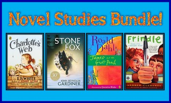 Novel Studies Bundle (4 Great Novel Studies!)
