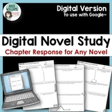 Novel Study - Reading Journal - GOOGLE CLASSROOM