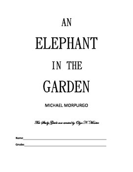 Novel Study Guide to An Elephant In the Garden by Michael
