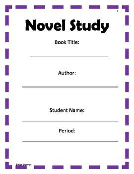 Novel Study Handouts