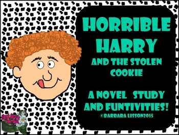 Novel Study: Horrible Harry and the Stolen Cookie