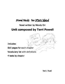 Novel Study-Nim's Island