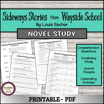 Novel Study: Sideways Stories from Wayside School