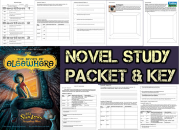 Novel Study Student Packet & KEY - The Shadows: Books of E