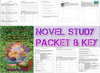 Novel Study Student Packet, Key -Last of the Really Great