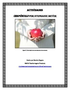 Novel Study: Crepusculo (Twilight) by Stephanie Meyer (Spa