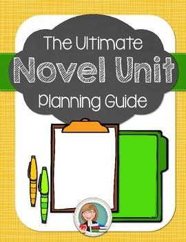 Novel Unit Planning Pages
