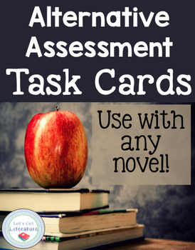 Novel Unit Test Task Cards for Alternative Assessments