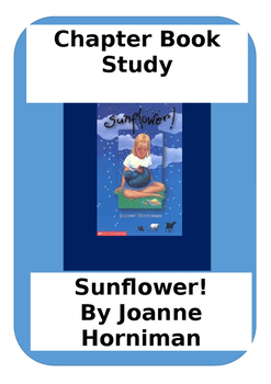 Novel study for Sunflower! By Joanne Horniman
