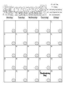 November 2013 Calendar