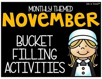 November Bucket Filler Activity