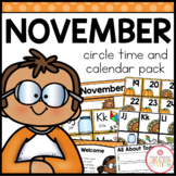 November Circle Time and Calendar Resources