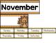 November Circle Time and Calendar Resources