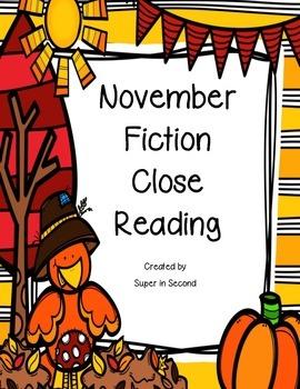 November Reading Comprehension
