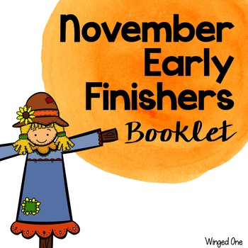 Early Finishers November Booklet