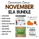 November ELA Bundle for Grades 4-6