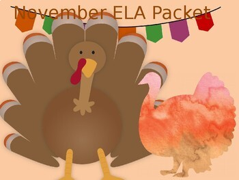 November ELA Packet