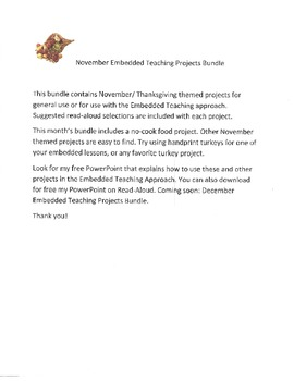 November Embedded Teaching Projects