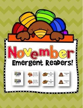 November Emergent Readers!