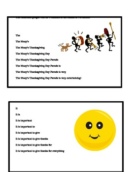 November Fluency Pyramid